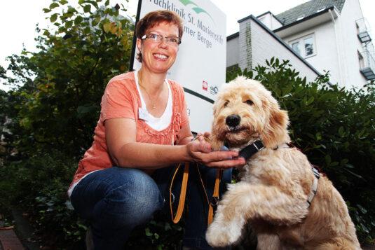 Tiergestützte Therapie Marienstift